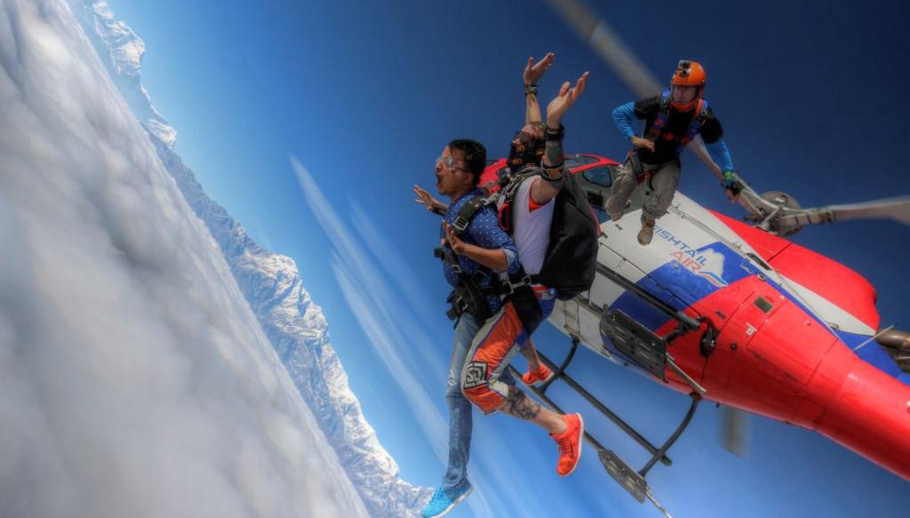 Pokhara Skydive