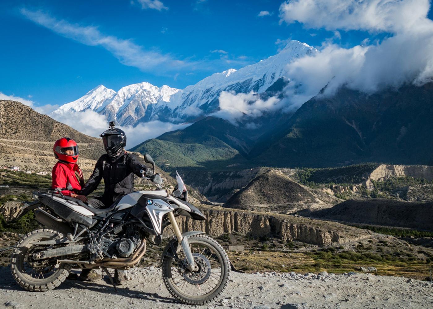 Explore Muktinath, Lower Mustang - BMW Motorcycle